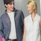 McCalls Sewing Pattern 6932 Misses Mens Shirts Size 34-44 S-L New