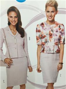 Burda Sewing Pattern 6775 Misses Ladies Suit Size 10-20 New