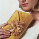 Vogue Sewing Pattern 9098 Flowers & Clutch Purse New Mary Jo Hiney Designs