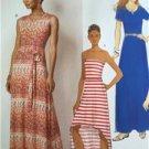 Butterick Sewing Pattern 6206 Ladies Misses Dress Belt Size 6-14 New