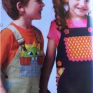 Kwik Sew Sewing Patterns 3948 Childs Toddlers Overalls Size 1-4 New