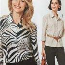 Burda Sewing Pattern 2561 Misses Ladies Blouse Size 8-20 New