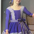 Butterick Sew Pattern 5900 Childrens Girls Civil War Period Dress Size 6-8 New