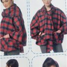 McCalls Sewing Pattern 7202 Misses Ladies Ponchos Size 4-14 XS-M New