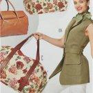 Burda Sewing Pattern 7119 Five Travel Bags Uncut Accessories Fashion