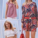 Burda Sewing Pattern 6684 Misses Dress Blouse Size 8-20 New
