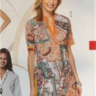 Burda Sewing Pattern 6809 Ladies Misses Blouse Tunic Size 8-20 New