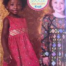 **Ellie Mae Designs Sewing Pattern K0156 Girls Little Ladies Dress Size 3-10 New