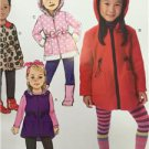Butterick Sewing Pattern 6279 Girls Vest Jacket Size 6-8 New