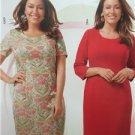 Burda Sewing Pattern 6675 Misses Ladies Dress Size 18-28 New