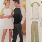 New Look Sewing Pattern 6321 Ladies Misses Mens Knit Sleepwear All Sizes New
