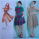 Simplicity Sewing Pattern 1755 Ladies Misses Dress Tie Belt Size 4-12 New