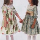 McCalls Sewing Pattern 7075 Childrens Girls Dresses Belt Petticoat Size 2-5 New