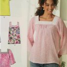 New Look Sewing Pattern 6284 Ladies Misses Pullover top in two lengths Size 6-16