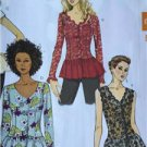 Butterick Sewing Pattern 6095 Ladies Misses Top Size 14-22 New