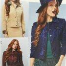 Burda Sewing Pattern 7018 Misses Ladies Jacket Size 6-18 New