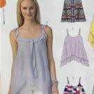 McCalls Sewing Pattern 7155 Misses Ladies Tops Size 16-26 L-XXL New