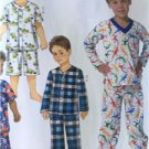 Butterick Sewing Pattern 6126 Boys Childs Tops Shorts Pants Size 6-8 New