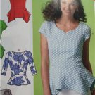 McCalls Sewing Pattern 7126 Misses Ladies Tops Size 6-14 New