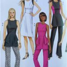 Butterick Sewing Pattern 6066 Ladies Misses Tunic Dress Pants Size 6-14 New