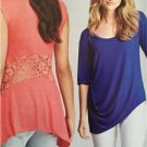 Simplicity Sewing Pattern 1198 Misses Ladies Knit Tops Size XXS-XXL New