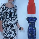McCalls Sewing Pattern 7085 Ladies Misses Dress Size 14-22 New