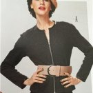 Burda Sewing Pattern 7183 Misses Ladies Jacket Size 8-16 New