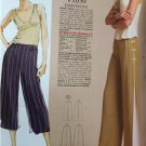 Vogue Sewing Pattern Todays Fit 1050 Misses Pants Size A to J New