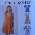 Simplicity Sewing Pattern 1872 Ladies Misses Dress Top Belt Size 14-22 New
