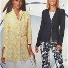 Burda Sewing Pattern 6637 Misses Ladies Jacket Size 10-20 New