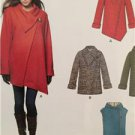 New Look Sewing Pattern 6325 Misses Easy Coat & Vest Size XS-XL New