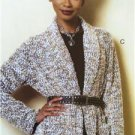 Butterick Sewing Pattern 6251 Misses Sweater Jacket Coat Size XS-M 4-14 New