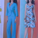 Simplicity Sewing Pattern 1883 Ladies Misses Dress Jacket Pants Size 8-16 New