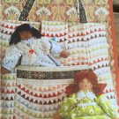 ** Ellie Mae Designs Sewing Pattern K0148 Totally Cute Tote & Dolls New