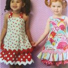 ** Ellie Mae Designs Sewing Pattern K0175 Girls Sunshine Sundresses Size 1-4 New