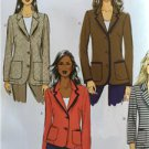 Butterick Sewing Pattern 5926 Ladies Misses Jacket Size 8-16 New