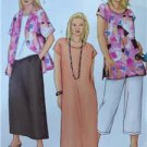Butterick Sewing Pattern 3039 Misses Shirt Top Tunic Dress Size 22W-26W New