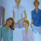 Butterick Sewing Pattern 6085 Ladies Misses Shirt Size 20-24 New