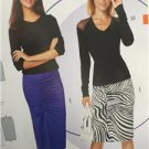 Burda Sewing Pattern 6634 Misses Ladies Skirt Size 8-18 New