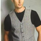 Vogue Sewing Pattern 8987 Mens Vest Size 34-40 New