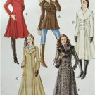 Vogue Sewing Pattern 8346 Misses Coat Size 18-22 New