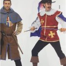 Burda Sewing Pattern 7976 Mens Musketeer & Page Size 38-50 New
