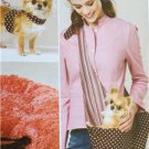 Kwik Sew Sewing Patterns 3517 Dog Pet Harness Leash Bed Carrier New