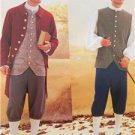 Butterick Sewing Pattern 3072 Mens 18th Century Shirt Vest Pants Size 38-42 New