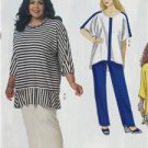 McCalls Sewing Pattern 7134 Misses Tunic Skirt Pants Size 18w-24w New