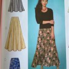 Butterick Sewing Pattern 4136 Ladies Misses Skirt Size 14-18 New