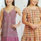 Kwik Sew Sewing Patterns 3674 Girls Childs Dresses Size 7-14  New