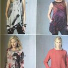 Butterick Sewing Pattern 6101 Misses Tunic Size XS-M 4-14 New Katherine Tilton