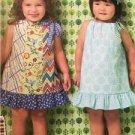 Ellie Mae Designs Sewing Pattern K0169 Girls Pillowcase Dresses Size XXS-L New