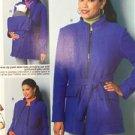 Butterick Sewing Pattern 6301 Misses/Ladies Vest Coat Belt Size 8-16 New